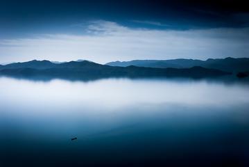 水墨泸沽湖