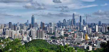 广州城市天际线