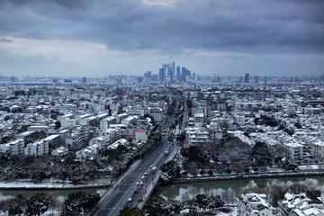 风雪后的姑苏城