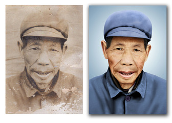 北京老照片翻新