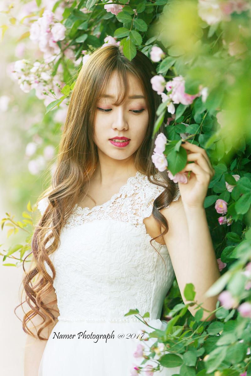 刘颖伦发布最新写真 多巴胺少女清新满分