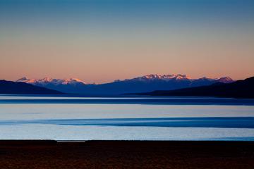 达果雪山日落