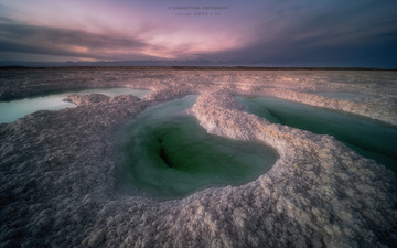 翡翠湖的熔盐池