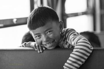 火车上的孩子