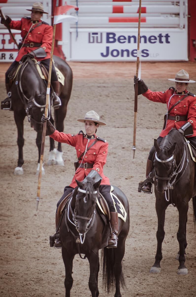 加拿大皇家骑警。