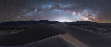 【Death Valley's Dark Sky】