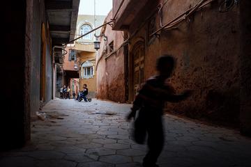 喀什古城的街头