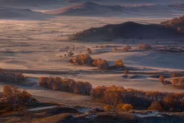 乌兰布统的秋