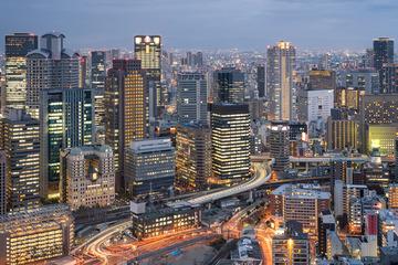 大阪Osaka天际线