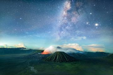布罗莫火山星空