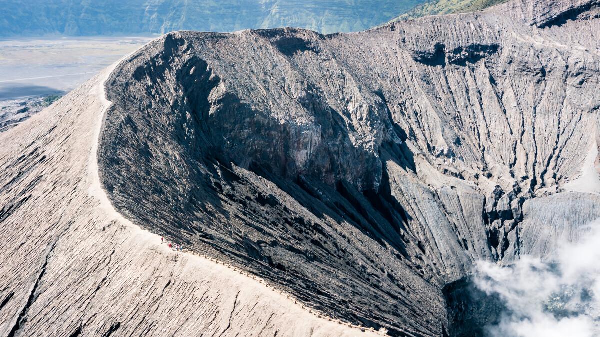 火山口弧线