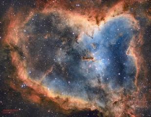 IC 1805 ---- 心脏星云(Heart Nebula)