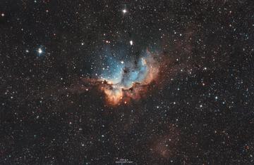 NGC 7380 –– 巫师星云