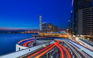 Blue Hour 海港城细腻夜景
