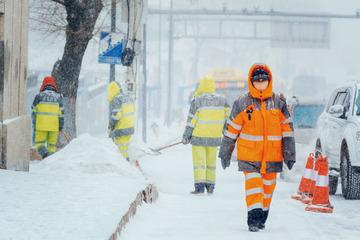 风雪清洁工