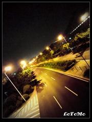 大学城夜色