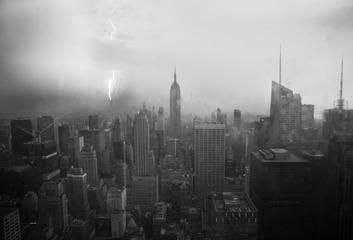 闪电与纽约