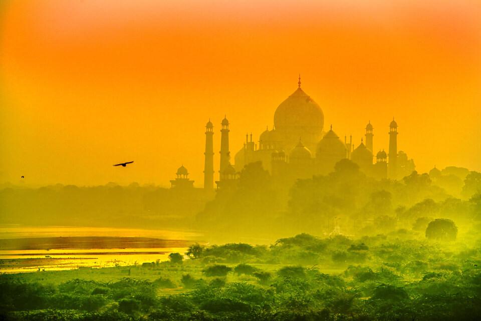 印度国旗色·<br />
