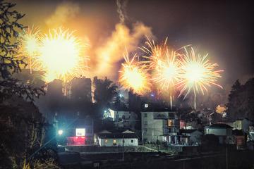 新年钟声唱响美丽山村