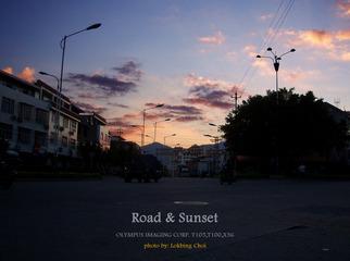 夕陽與道路.jpg