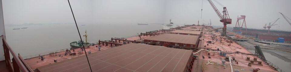 施工中的VALE DONGJIAKOU<br /> 40万吨VLOC