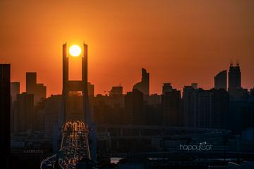南浦大桥悬日