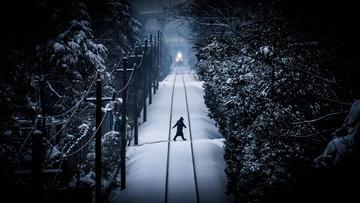 快跑!火车来了!